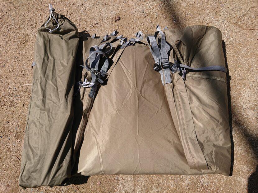 テントの収納方法イメージ10中
