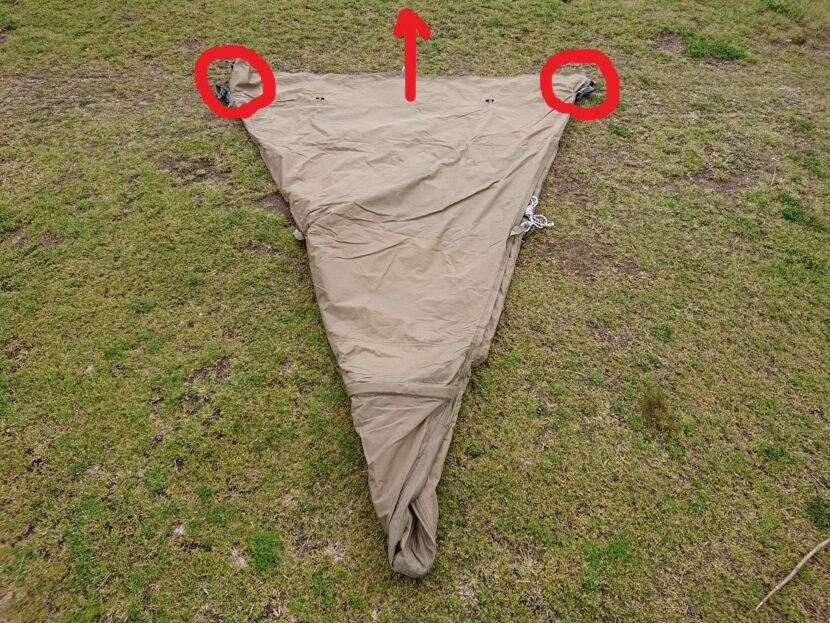 テントの設営方法イメージ13