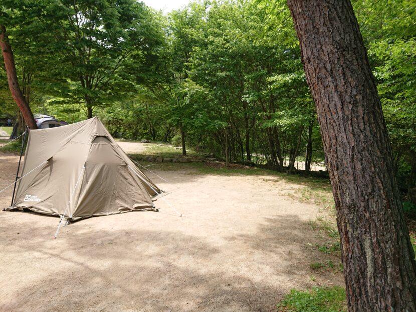 キャンプしてみてイメージ1