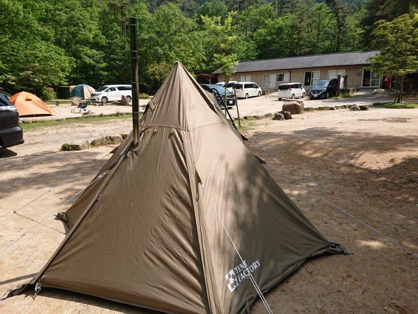 テントにインストールイメージ2