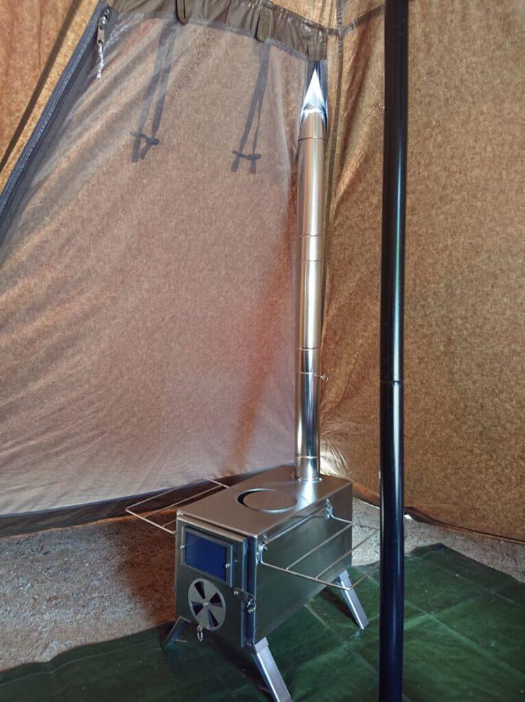 テントにインストールイメージ1