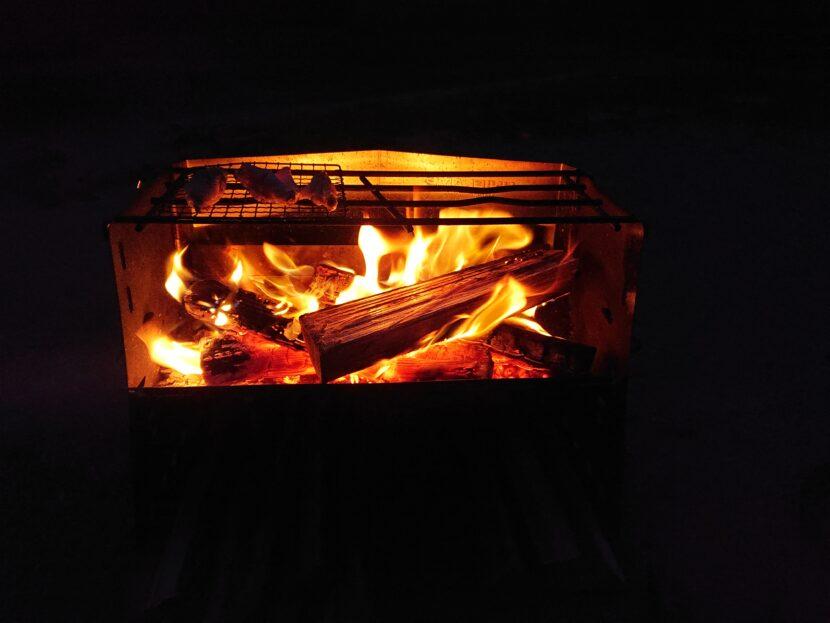 薪グリルで料理をしてみてイメージ4