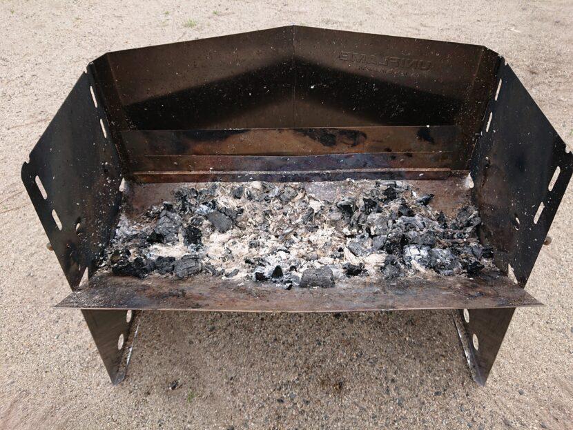 薪グリルで料理をしてみてイメージ5